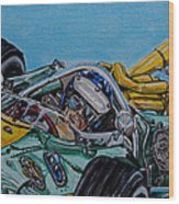 Jim Clark Indy 500 Wood Print