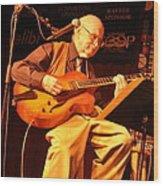 Jim Hall Wood Print