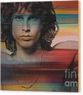 Jim Morrison The Doors Wood Print