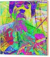 Jimi Hendrix 20130613 Wood Print by Wingsdomain Art and Photography
