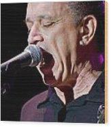 Jimmie Vaughan Sings The Blues Wood Print
