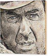 Jimmy Stewart  Wood Print