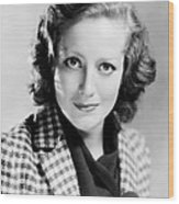 Joan Crawford, 1931 Wood Print