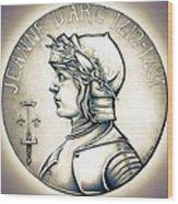 Joan Of Arc - Original Wood Print