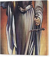 Joan Of Sharc Wood Print