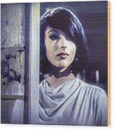Joanna Frank In Zzzzz Wood Print