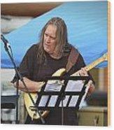 Jocelyn Godfrey Guitarist 1 Wood Print