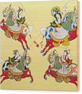 Jodhpur Polo Wood Print