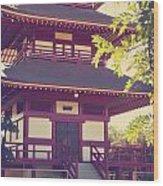 Jodo Mission 3 Wood Print