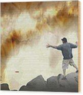 Joe Vs. The Volcano Wood Print