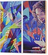 Joel And Andy Wood Print by Joshua Morton