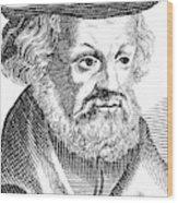 Johannes Aepinus (1499-1553) Wood Print