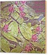 John 15 18 Wood Print