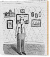 John B.; Best Entertainment Value For Under $1.79 Wood Print