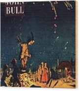 John Bull 1954 1950s  Uk Guy Fawkes Wood Print by The Advertising Archives