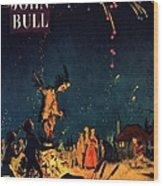 John Bull 1954 1950s  Uk Guy Fawkes Wood Print
