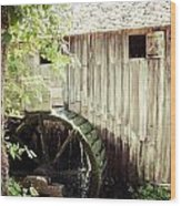 John Cable Mill Wood Print