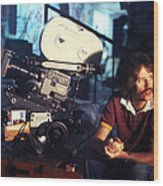 John Carpenter In Escape From New York  Wood Print