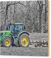 John Deere 2 Wood Print