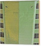 John Deere Grill Wood Print
