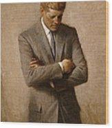 John F Kennedy 2 Wood Print