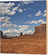 John Ford Point - Monument Valley  Wood Print