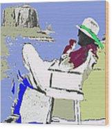 John Ford The Searchers Set Monument Valley Arizona 1955-2013 Wood Print