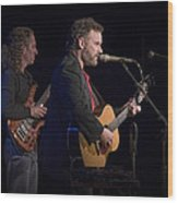 John Gorka And Michael Manring In Concert Wood Print