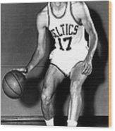 John Havlicek Of The Boston Celtics 1960s Wood Print