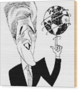 John Kerry Earth Day Wood Print
