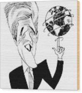 John Kerry Earth Day Wood Print