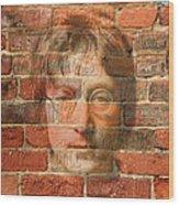 John Lennon 2 Wood Print by Andrew Fare