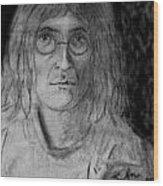 John Lennon Number 9 Wood Print