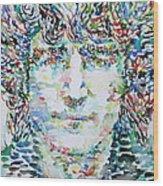 John Lennon Portrait.1 Wood Print