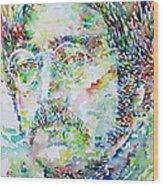 John Lennon Portrait.2 Wood Print