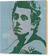 John Mayer - Pop Stylised Art Sketch Poster Wood Print