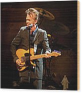 John Mellencamp 437 Wood Print