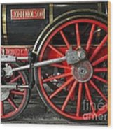John Molson Steam Train Locomotive Wood Print