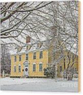 John Paul Jones House Wood Print