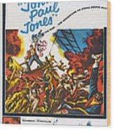 John Paul Jones, Us Poster Art, 1959 Wood Print