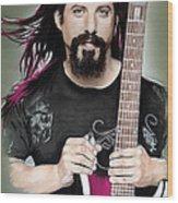 John Petrucci Wood Print