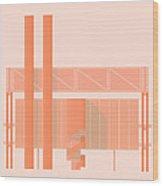 John Player Factory Wood Print