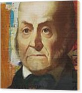 John Quincy Adams Wood Print