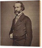 John Rae Wood Print