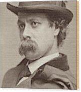 John Sidney Woollett (1845-1917) Wood Print