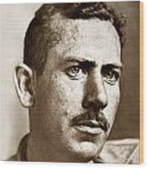 John Steinbeck American Author Circa 1938 Wood Print