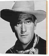 John Wayne, Ca. 1940 Wood Print
