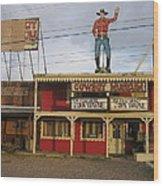 John Wayne Cowboy Museum Tombstone Arizona 2004 Wood Print