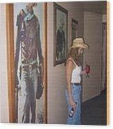 John Wayne Gallery Hondo 1953 Crystal Palace Saloon Helldorado Days Tombstone Arizona 2004 Wood Print
