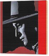 John Wayne Ringo Kid Portrait Stagecoach 1939-2013 Wood Print